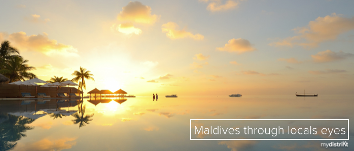 Everybody's invited to discover the paradise in the Maldives