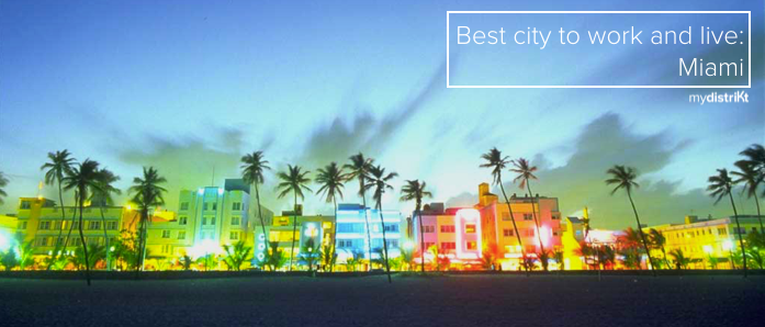 Why Miami Beach is one of the best places to live and work